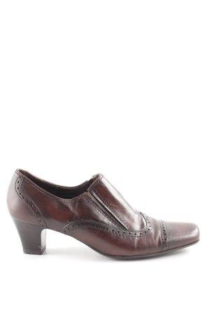 Bonita High Heels braun Business-Look