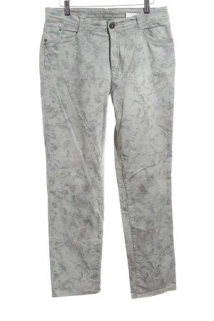 Bonita Hoge taille jeans lichtgrijs-zilver casual uitstraling