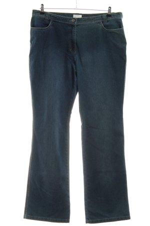 Bonita Hoge taille jeans blauw casual uitstraling