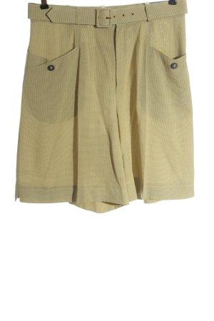Bonita Pantaloncino a vita alta giallo pallido-blu modello web stile casual