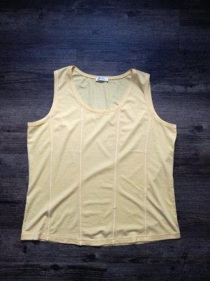 *Bonita* hochwertiges Tank-Top / Farbe gelb / Gr. XL / *NEU* - 29,99€