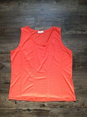 *Bonita* hochwertiges Tank-Top / Farbe rot (orange-rot) / Gr. XL / *NEU* - NP 29,99€
