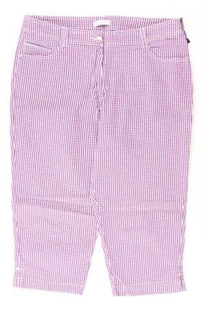Bonita Trousers lilac-mauve-purple-dark violet cotton