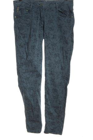 Bonita Jeansy z prostymi nogawkami Wielokolorowy Tkanina z mieszanych włókien