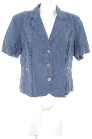 Bonita Jeansblazer dunkelblau-graublau Casual-Look