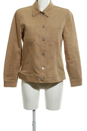 Bonita Jeansjacke beige schlichter Stil