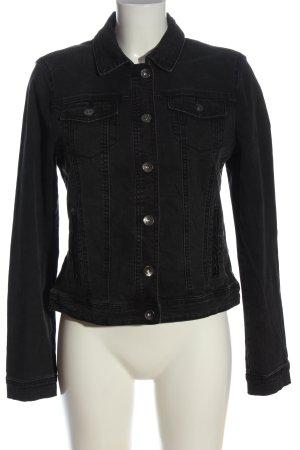 Bonita Denim Jacket black casual look