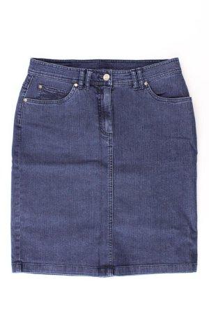 Bonita Gonna di jeans blu-blu neon-blu scuro-azzurro Cotone