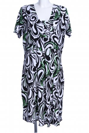 Bonita Jerseykleid abstraktes Muster Casual-Look