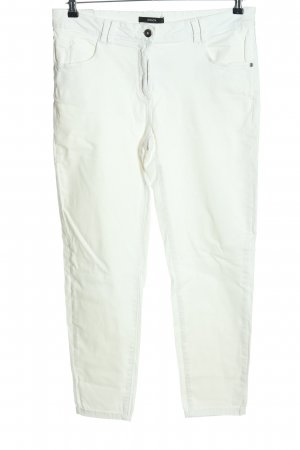 Bonita Peg Top Trousers white casual look
