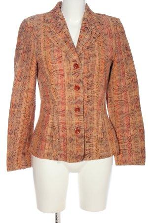Bonita Korte blazer abstract patroon casual uitstraling