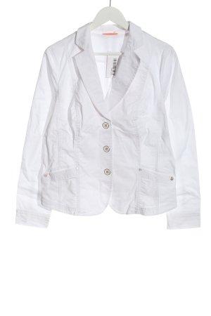 Bonita Korte blazer wit casual uitstraling