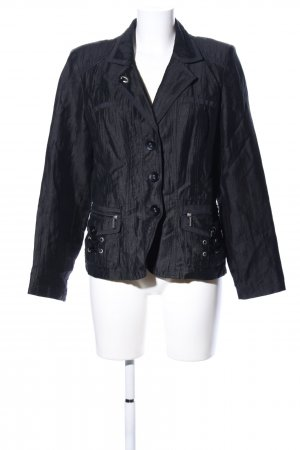 Bonita Kurz-Blazer schwarz Casual-Look