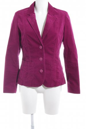 Bonita Kurz-Blazer purpur-violett Business-Look