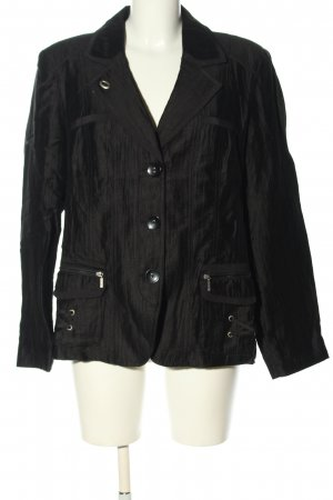 Bonita Korte blazer zwart zakelijke stijl
