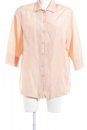Bonita Kurzarm-Bluse apricot Business-Look