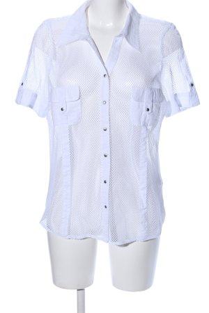 Bonita Kurzarm-Bluse weiß Casual-Look