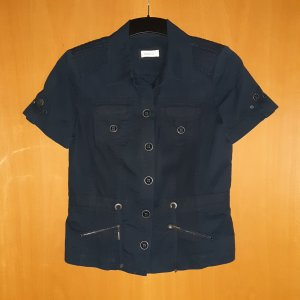 Bonita Veste chemise bleu foncé