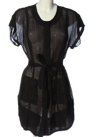 Bonita Kurzarmkleid schwarz Casual-Look