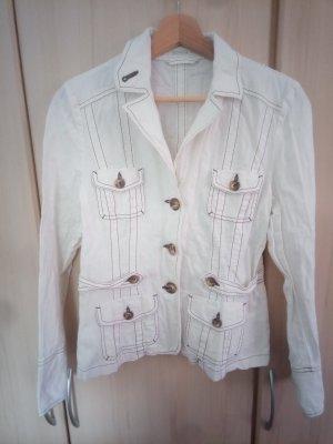 Bonita Korte blazer wit