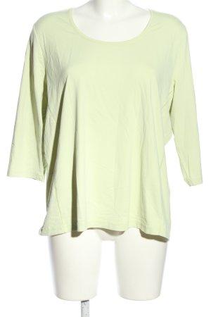 Bonita Langarm-Bluse grün Casual-Look