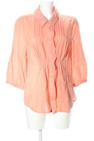 Bonita Langarm-Bluse hellorange Casual-Look