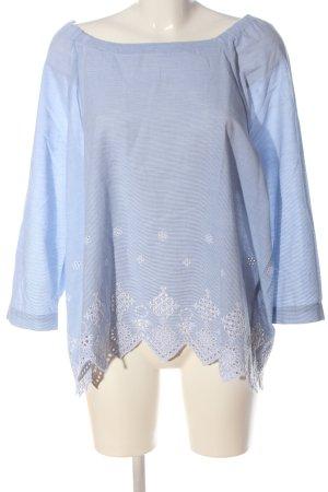 Bonita Long Sleeve Blouse blue business style