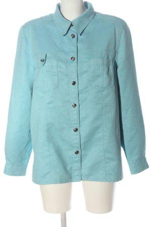 Bonita Long Sleeve Shirt turquoise business style