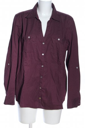 Bonita Long Sleeve Shirt lilac spot pattern business style