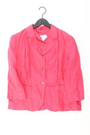 Bonita Klassischer Blazer rosa chiaro-rosa-rosa-fucsia neon Lino