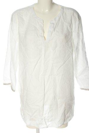 Bonita Linnen blouse wit casual uitstraling