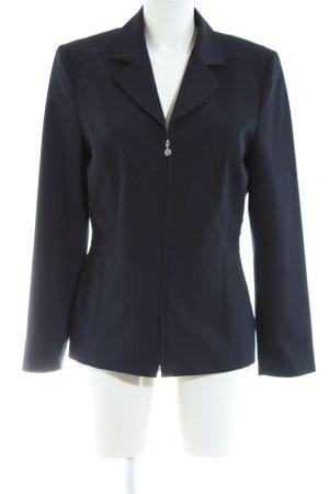 Bonita Long-Blazer blau Business-Look
