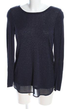 Bonita Long Sweater black casual look