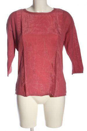 Bonita Top à manches longues rose style décontracté