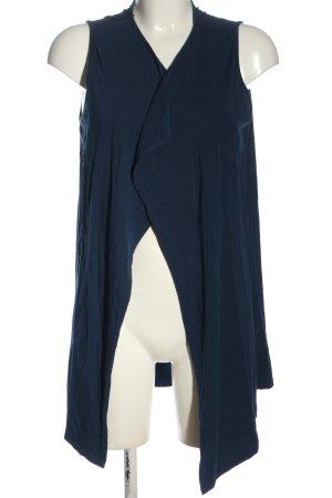 Bonita Cardigan lungo smanicato blu stile casual