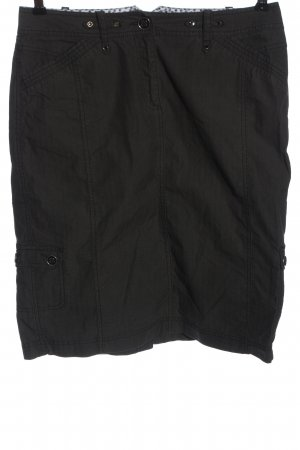 Bonita Spódnica midi czarny W stylu casual