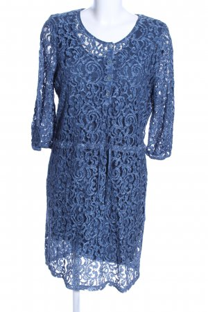 Bonita Minikleid blau Allover-Druck Casual-Look