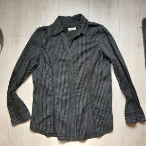 Bonita Kołnierzyk koszulowy czarny-antracyt