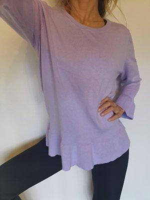 Bonita Gebreid shirt paars