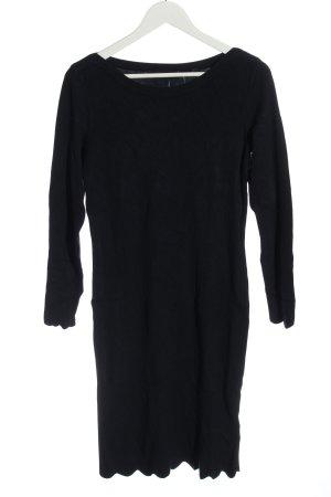 Bonita Abito maglione nero stile casual