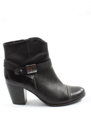 Bonita Reißverschluss-Stiefeletten schwarz Elegant