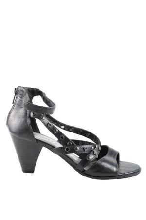 Bonita Sandalo con cinturino e tacco alto nero stile casual