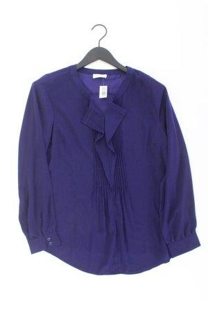 Bonita Blusa con volantes lila-malva-púrpura-violeta oscuro