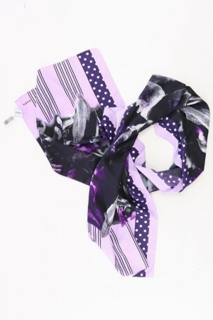 Bonita Bufanda lila-malva-púrpura-violeta oscuro Poliéster