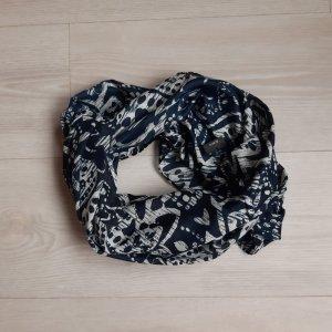 Bonita Écharpe tube noir-blanc