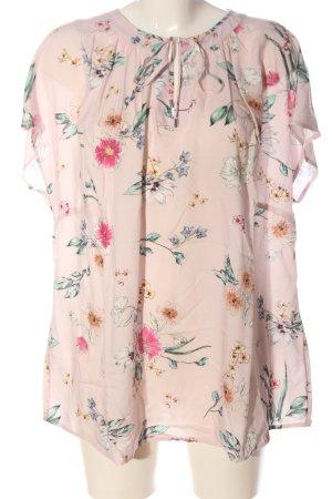 Bonita Slip-over Blouse pink allover print casual look