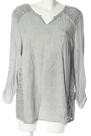 Bonita Blouse à enfiler gris clair style décontracté