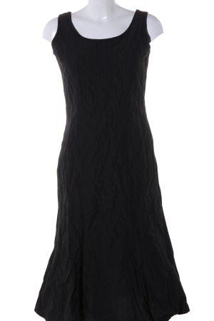 Bonita schulterfreies Kleid schwarz Casual-Look