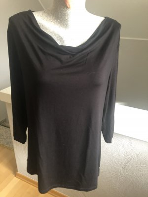Bonita Koszulka z dekoltem woda czarny