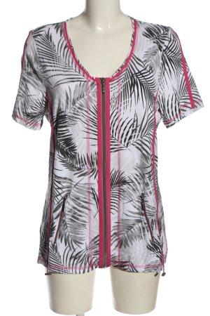 Bonita Kurtka o kroju koszulki Na całej powierzchni W stylu casual